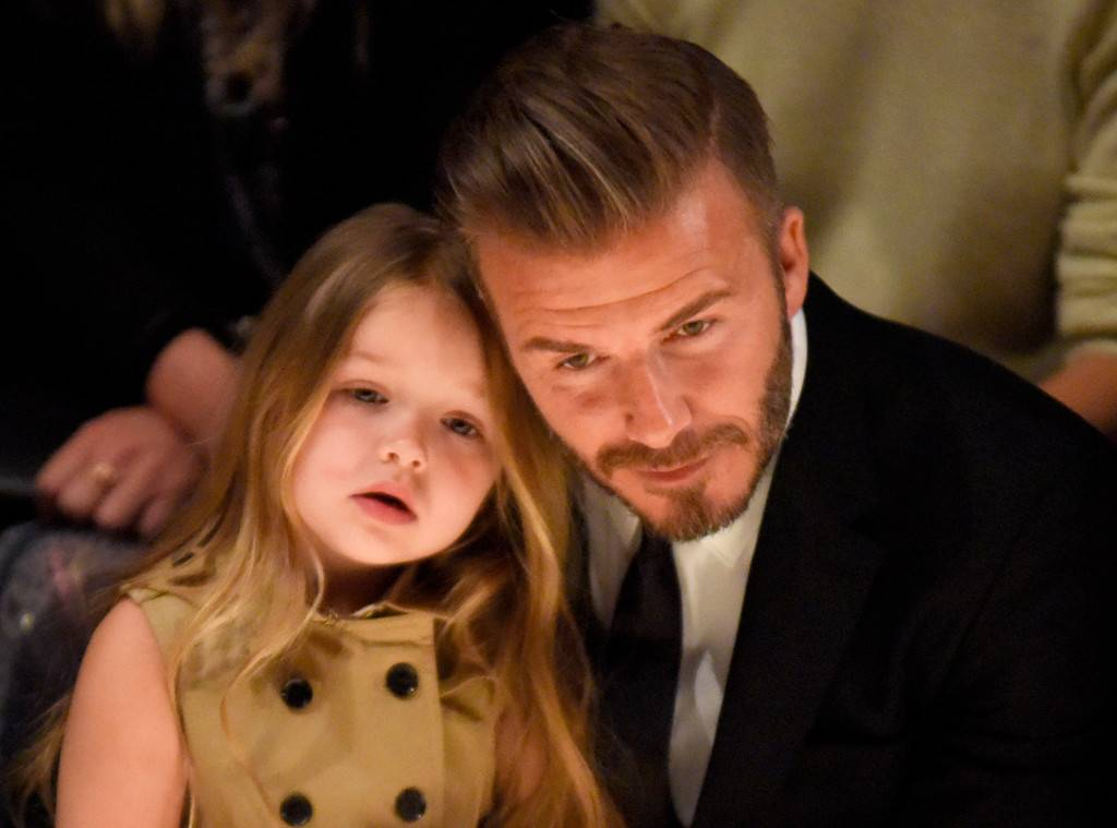 "The Beckhams Trademark their daughter's name ""Harper Beckham"":"